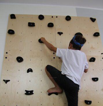Ścianka wspinaczkowa dla dzieci